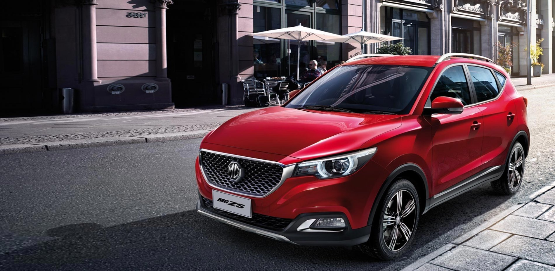 MEET THE NEW MG ZS